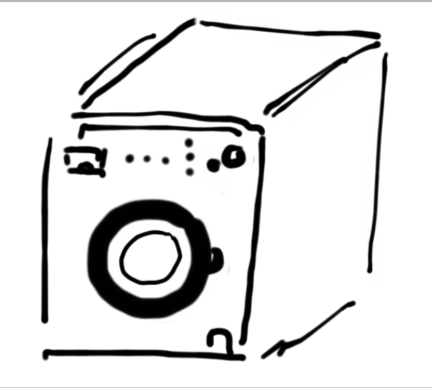 washing machine La société de consommation